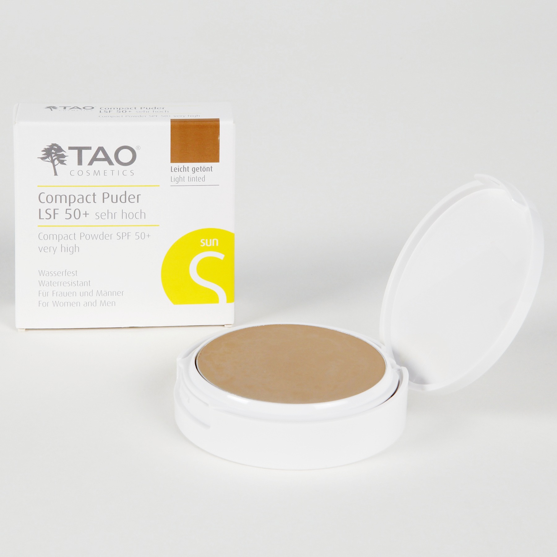 Packung compact Puder